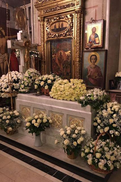 Архиепископ Амвросий совершил панихиду у гробницы Святейшего Патриарха Алексия II