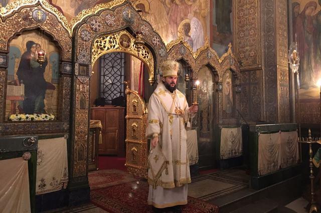Ректор Духовной Академии совершил всенощное бдение на Патриаршем Подворье в Софии (Болгария) накануне престольного дня
