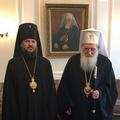 Состоялась встреча Патриарха Болгарского Неофита и архиепископа Петергофского Амвросия