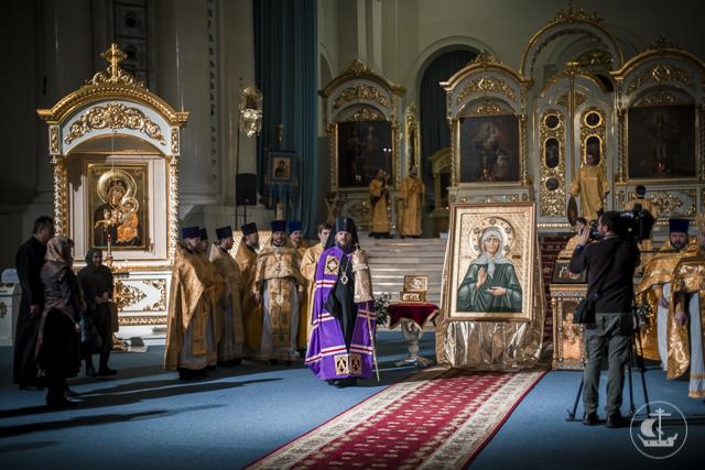 Божественная литургия в Смольном соборе открыла Рождественские чтения 2017 года