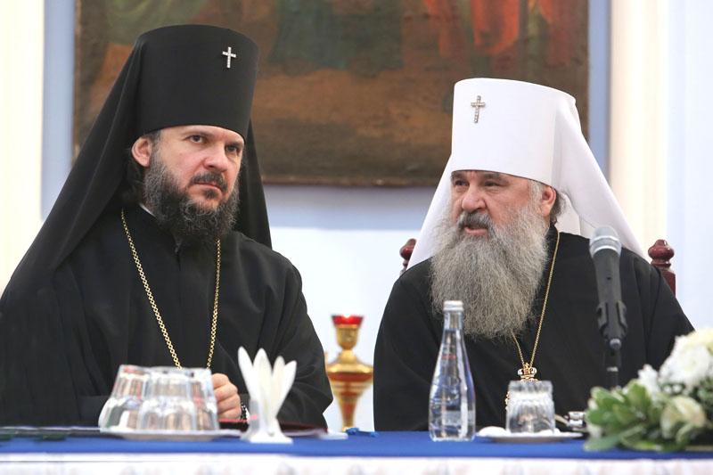 Архиепископ Амвросий выступил на ежегодном собрании клириков и мирян Санкт-Петербургской епархии