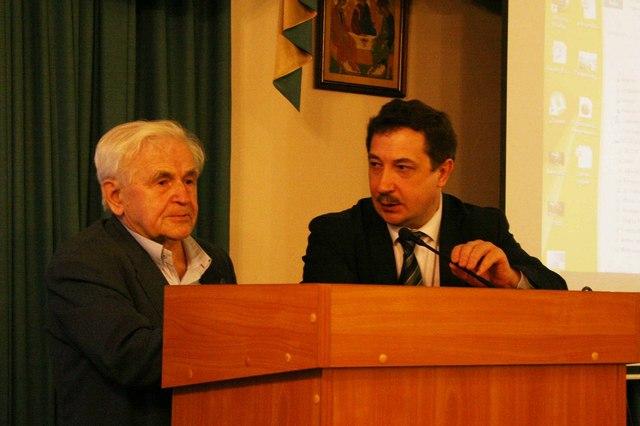 Преподаватели и аспиранты Духовной Академии выступили в РХГА