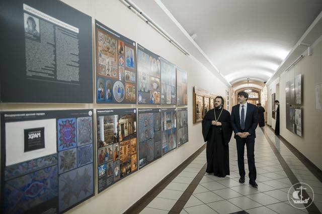 Руководитель Рособрнадзора посетил Духовную Академию