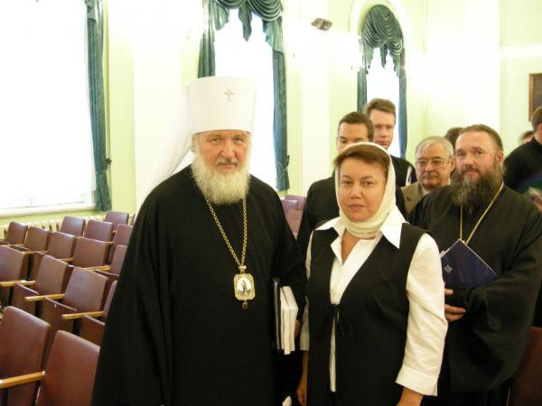 Ирина Иванова. Многая лета Святейшему Патриарху Московскому и Всея Руси Кириллу