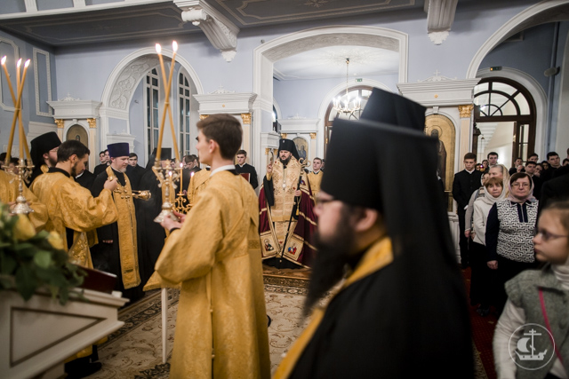 Последние общие богослужения 2017 года прошли в Духовной Академии