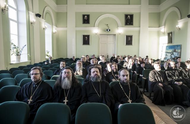 В Духовной Академии прошло итоговое совместное заседание Ученого совета и Общего собрания