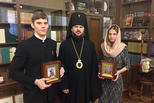 Студенты Академии получили благословение на брак