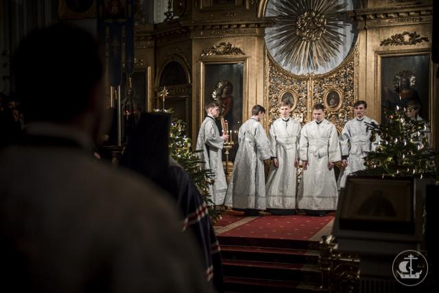 В Академии прошло первое общее богослужение 2017 года