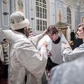 В навечерие Богоявления архиепископ Амвросий совершил хиротессии во чтецов