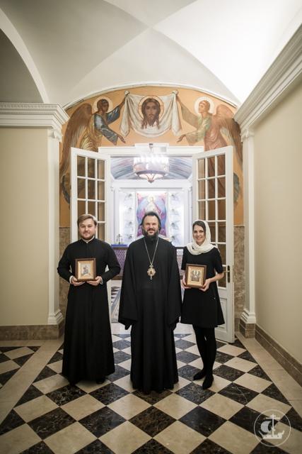 Архиепископ Петергофский Амвросий благословил учащихся Духовной Академии на брак