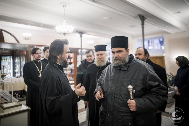 Митрополит Исаия посетил Духовную Академию