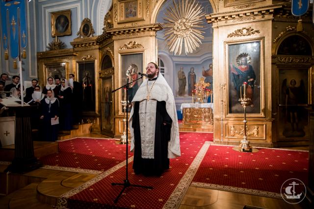 В Академии совершили панихиду по Патриарху Сергию (Страгородскому)