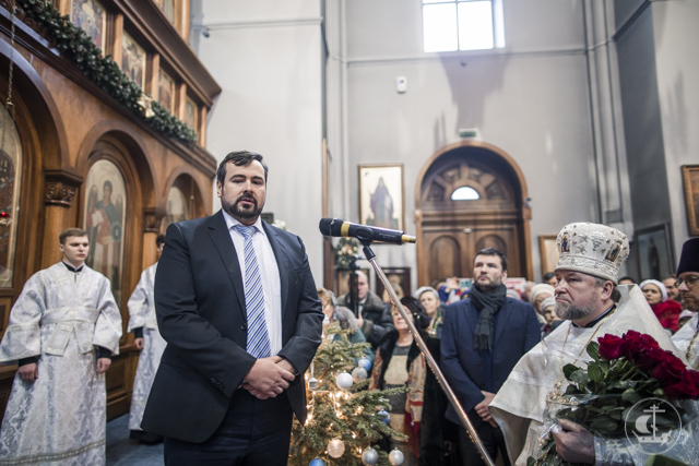 Пермь подарила Петербургу икону святителя Стефана Великопермского
