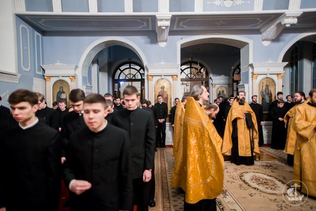 Духовная Академия молилась по случаю годовщины интронизации Святейшего Патриарха Кирилла