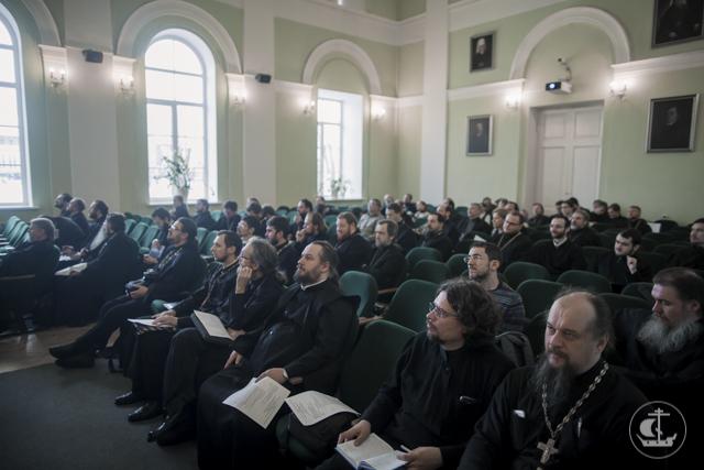 В Академии проходит II Семинар Сообщества преподавателей и исследователей Священного Писания