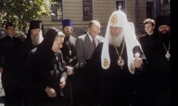 Иванова Ирина Ивановна. Светлой памяти Патриарха Алексия II