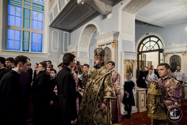 В Духовной Академии прошли богослужения Недели преподобной Марии Египетской