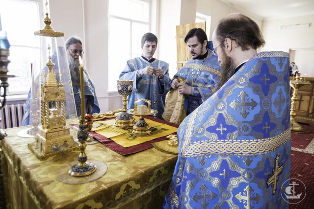 В Академии с праздником Благовещения завершилась Святая Четыредесятница