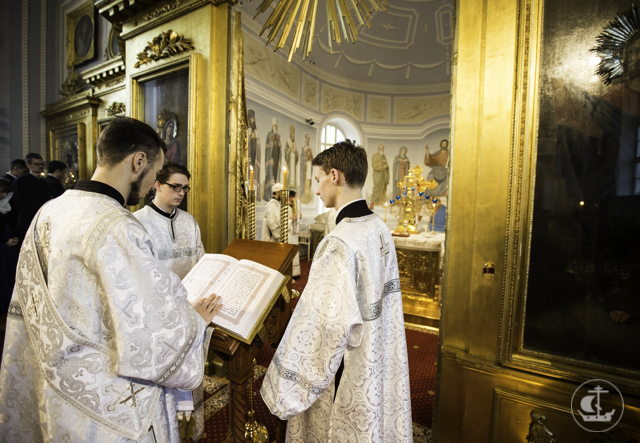 В Духовной Академии прошли богослужения Лазаревой субботы