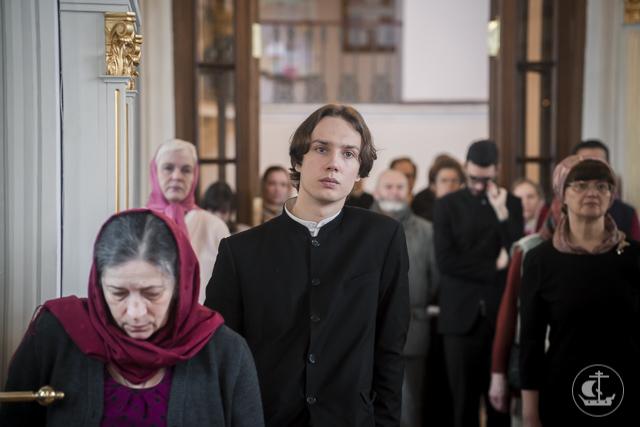 В Духовной Академии прошли богослужения Недели Антипасхи