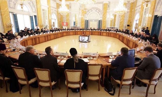 Ректор Академии принял участие в V Пленуме Христианского межконфессионального консультативного комитета