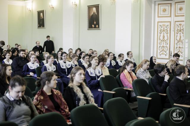 В Духовной Академии прошел Пасхальный концерт