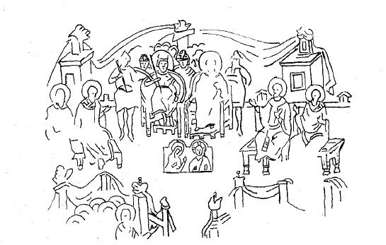 Происхождение иконостаса