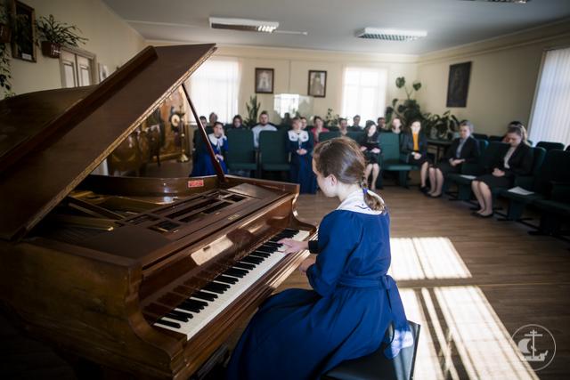 В Духовной Академии прошел вечер фортепианной музыки