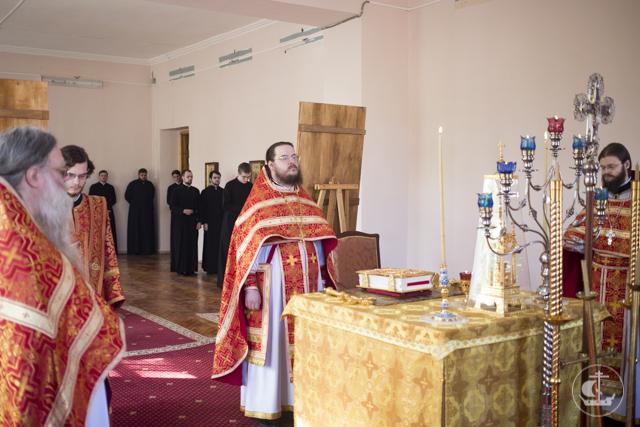 В Духовной Академии прошли богослужения дня святителя и чудотворца Николая