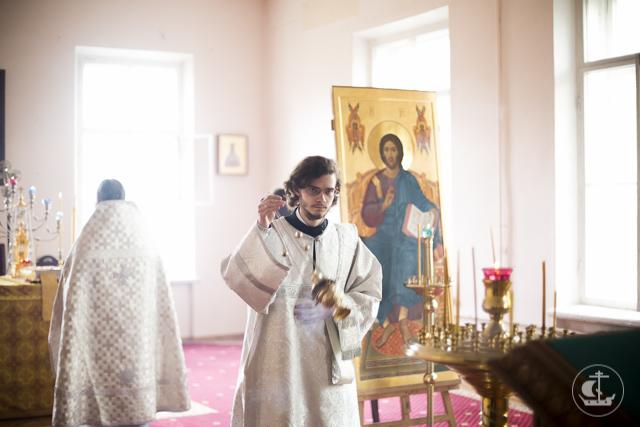 В праздник Вознесения Господня в храмах Духовной Академии совершена Божественная литургия