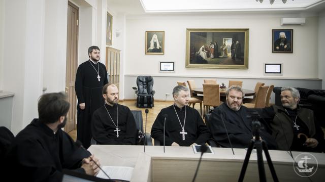 На кафедре Церковно-практических дисциплин прошло итоговое заседание