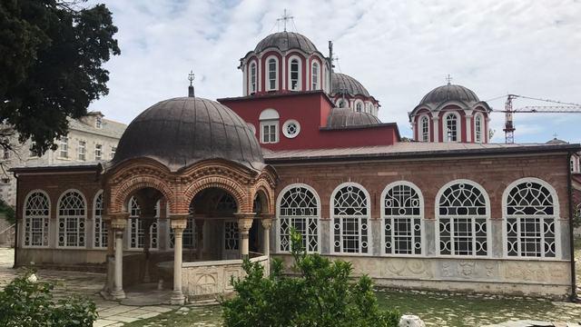 Архиепископ Амвросий совершил паломническую поездку на Святую Гору Афон