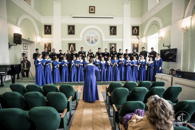 Впервые на Факультете церковных искусств Академии прошел государственный экзамен