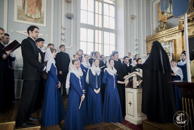 В день всех святых в Академии совершены две хиротонии
