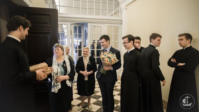 Духовная Академия поздравляет владыку ректора с Днем рождения