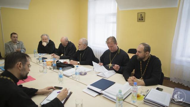 В историческом здании Академии прошли итоговые заседания кафедр библеистики и богословия