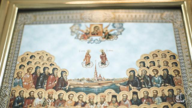 «Днесь светло красуется град святого Петра». В Академии почтили память святых покровителей Санкт-Петербурга