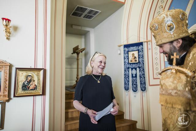 Богослужение в княжеском дворце. Архиепископ Амвросий совершил Литургию в храме особняка Юсуповых