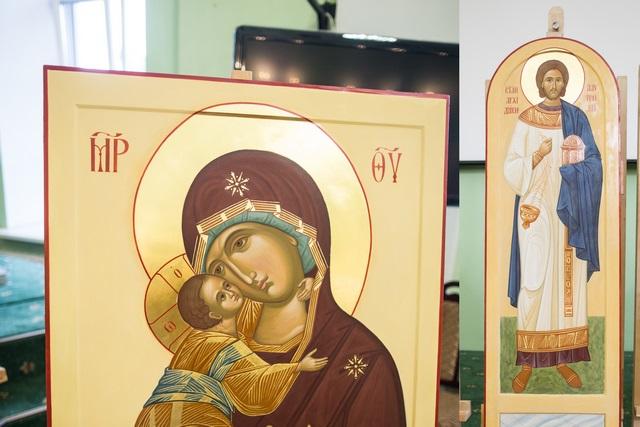 В Духовной Академии прошла защита работ выпускников Иконописного отделения
