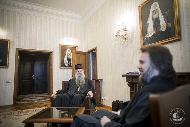 Академии подарен образ ее святого выпускника – святителя Мардария (Ускоковича)