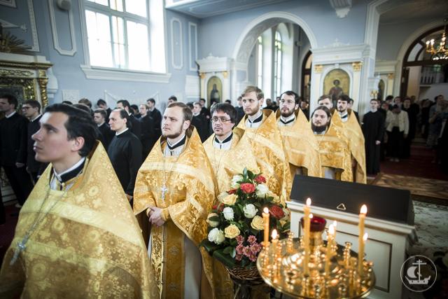 Учебный год в Духовной Академии завершился Божественной литургией