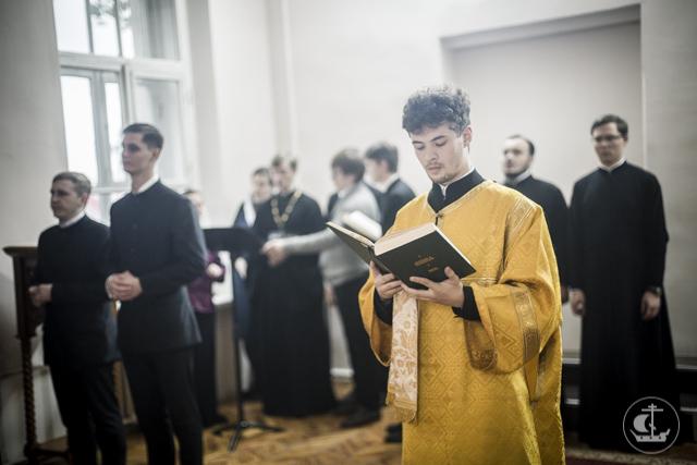 Академический храм Двенадцати апостолов отмечает престольный праздник
