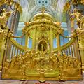 Архиепископ Амвросий сослужил Святейшему Патриарху в Петропавловском соборе