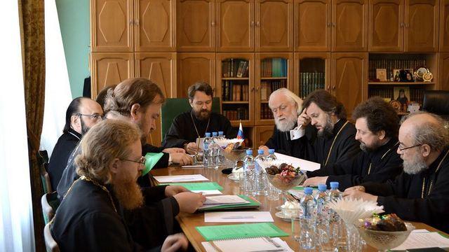 Ректор СПбДА сделал сообщение на очередном заседании Межведомственной координационной группы по преподаванию теологии в вузах