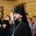 Архиепископ Амвросий принял участие в Патриарших богослужениях накануне праздника Преображения Господня