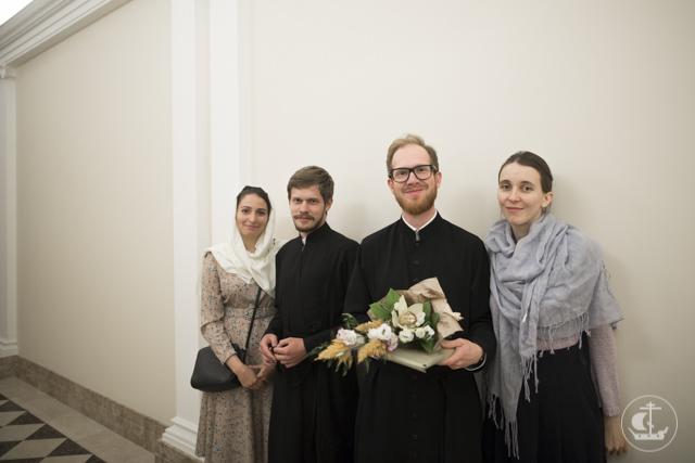 Студенты магистратуры получили благословение на брак
