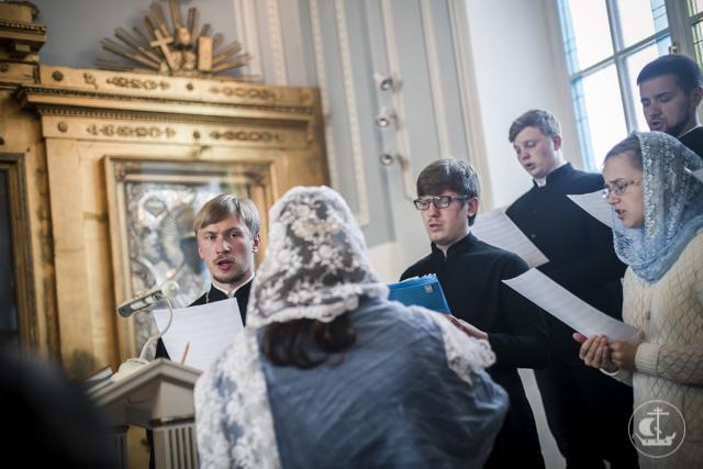 Академия встречает праздник Успения Пресвятой Богородицы