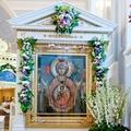 Диакон Григорий Борисов. Икона Божией Матери «Знамение» – символ христианской молитвы.
