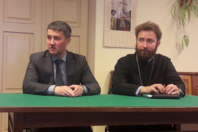На Факультета церковных искусств прошла встреча учащихся с представителем администрации Ленинградской области