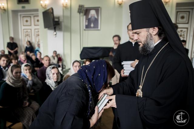 Учебный год на Епархиальных курсах начался с молитвы и встречи с Архиепископом Амвросием
